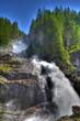 canvas print picture - Krimmler Wasserfälle