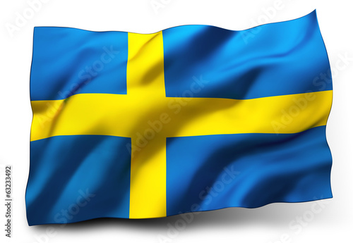 flag of Sweden - 63233492