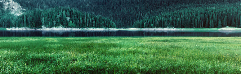 Black Lake panorama - Durmitor National Park