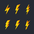 Lightning icons - 63234074