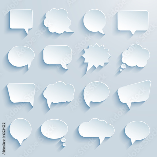paper communication bubbles