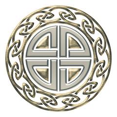 Thors Schild Knoten - Schutz Symbol - Keltischer Endlos Knoten