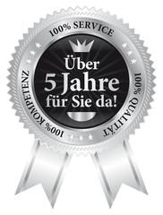Über 5 Jahre für Sie da! 100% Qualität - Service - Kompetenz