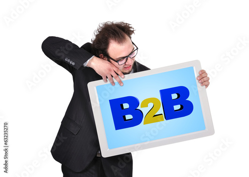 tablet  with b2b