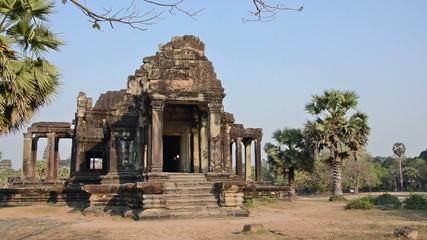 ancient temple, angkor wat, cambodia