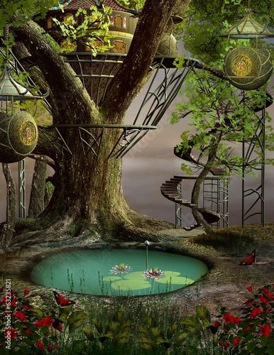 domek-na-drzewie