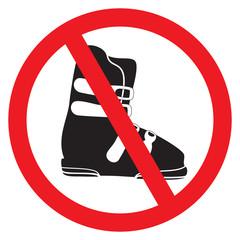 No ski boot