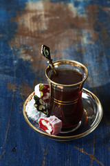 Turkish tea and delights