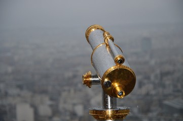 Telescope at Eiffel tower