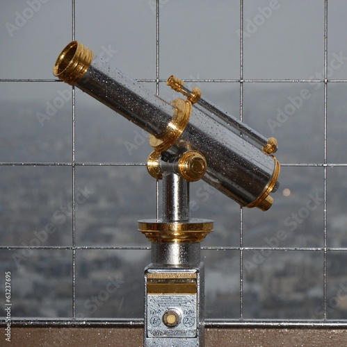Telescope at Eiffel tower