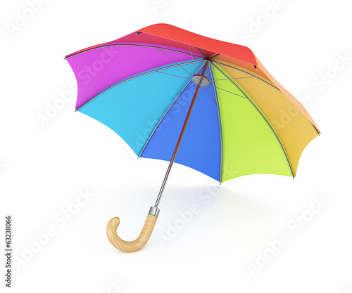 Colored umbrella