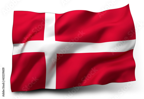 flag of Denmark - 63239609