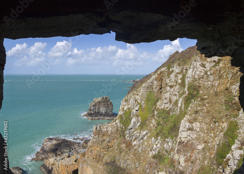 Window in the rock sark