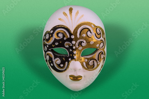 Venetian painted mask