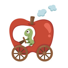 train apple