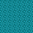seamless concentric circle backdrop pattern in blue