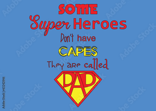 Super Heroes-Father's Day
