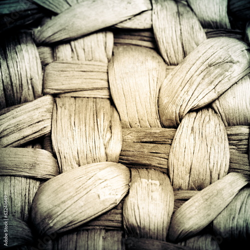 Basket texture, vintage background