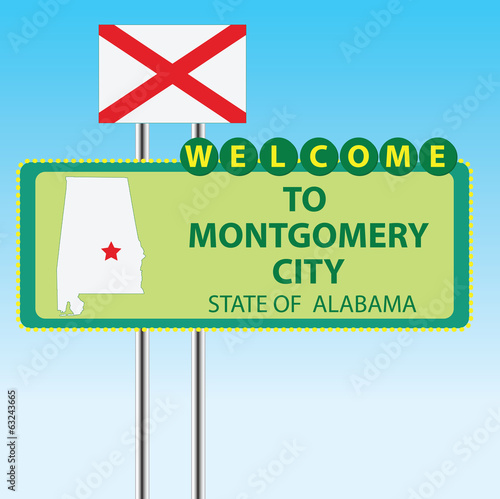 Stand Welcome to Montgomery City