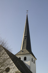 Dorfkirche Detail Remlingrade NRW unbearbeitet