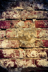 Vintage background - brickwork