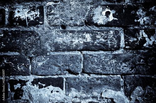 Vintage background - brickwork, night