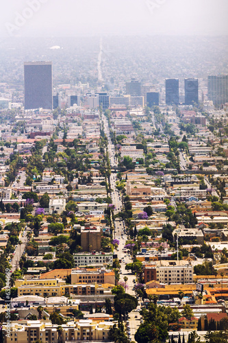 View of a Los Angeles boulevard