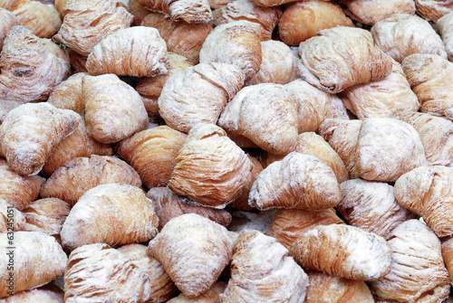 italian pastries, sfogliatelle, typical Neapolitan sweet food
