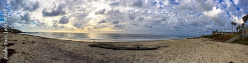 Pacific Ocean Landscape Panoramic