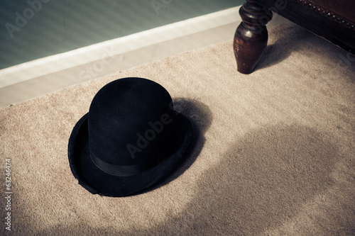 Bowler hat and shadow