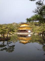 Reflection of Kinkakuji