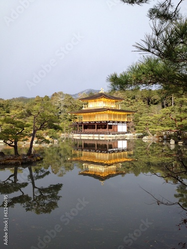 Reflection of Kinkakuji