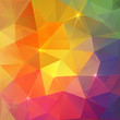 Abstract triangles ice colorful vector background