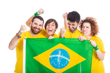 Group of Brazilian Supporters