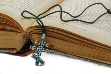 The book and a cross