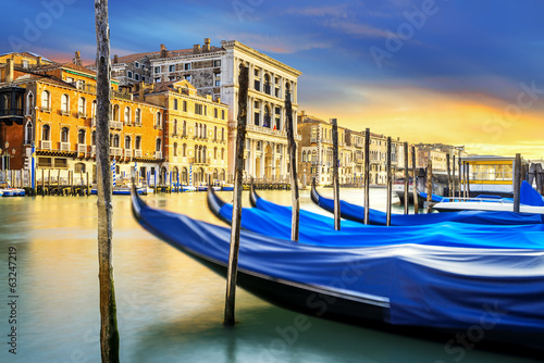 Zdjęcia na płótnie, fototapety na wymiar, obrazy na ścianę : Grand Canal in Venice, Italy