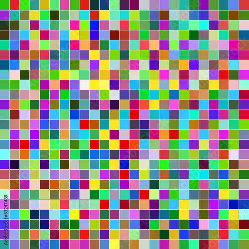 Vector abstract design mosaic