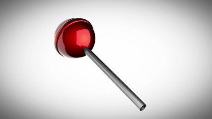 loop rotate red lollipop