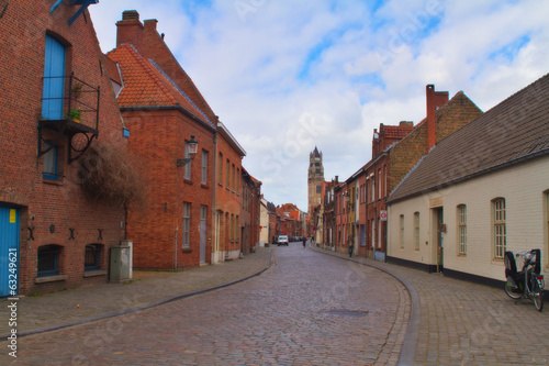 Brugge Street, Belgium