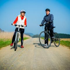 Freizeit auf dem Fahrrad