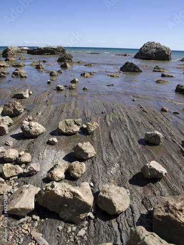 rocks on the shore