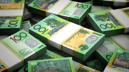 Billion New Zealand Dollar Background