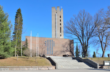 Lahti, Finland. Church of the Holy Cross