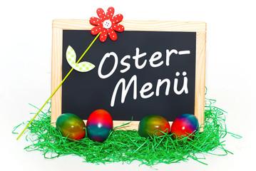 Als Ostermenü kredenzen wir...