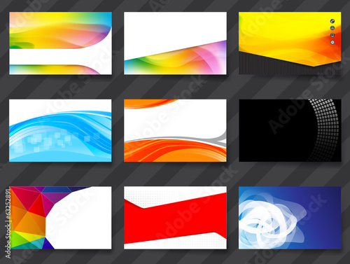 Colorful Namecard Template 02