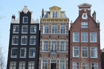 Amsterdam houses, Holland