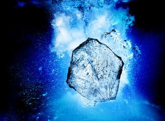 sinking ice
