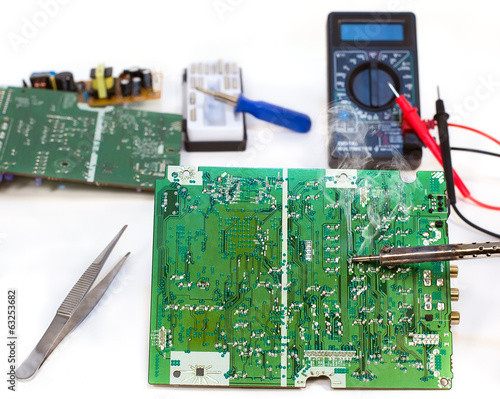 Repair of the electronic device