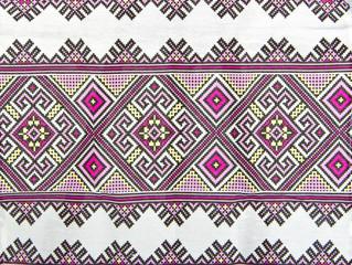 Russian geometric pattern