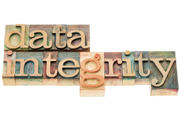 data integrity in wood type
